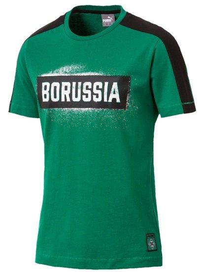 Puma Borussia Mönchengladbach T7 Herren Stencil T-Shirt für 9,99€ (statt 28€)