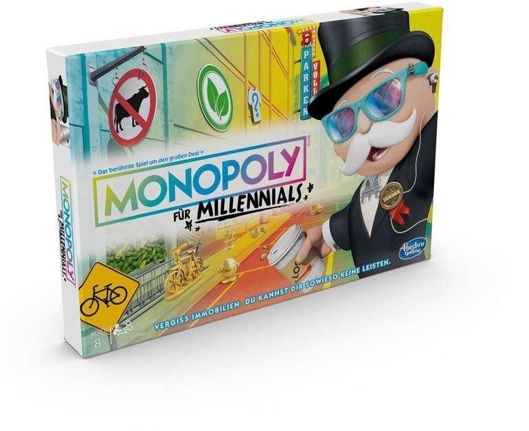 Hasbro Monopoly Millennials (E4989) für 12,99€ bei Filialabholung (statt 25€)