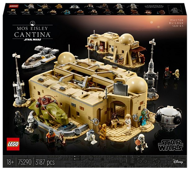 Lego Star Wars 75290 - Mos Eisley Cantina für 279,96€ inkl. Versand (statt 323€)