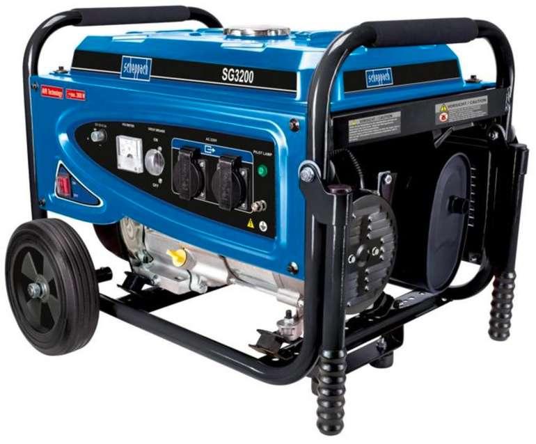 Scheppach Stromerzeuger SG3200 mit 2800W für 219,94€ inkl. Versand (statt 284€)