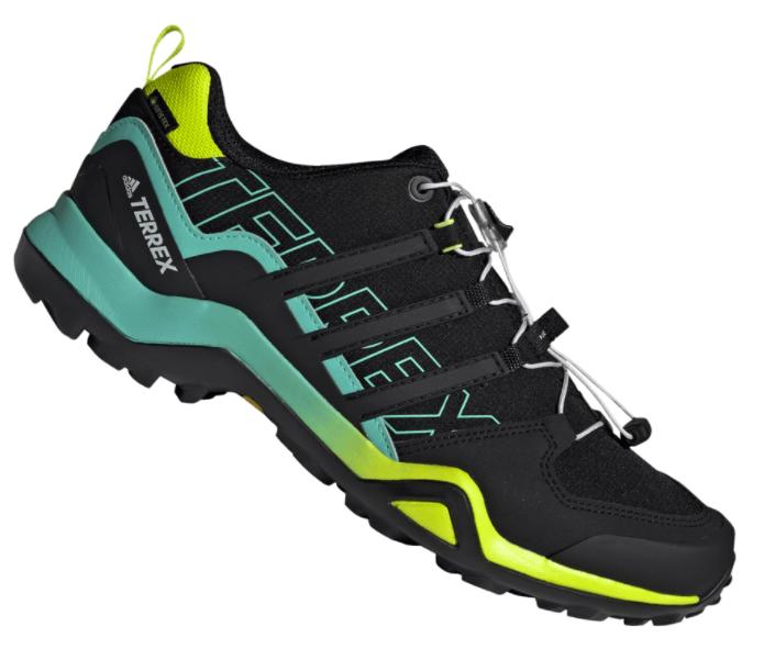 Adidas Terrex Swift R2 GTX black/türkis Trekkingschuhe für 89,95€ (statt 119€)