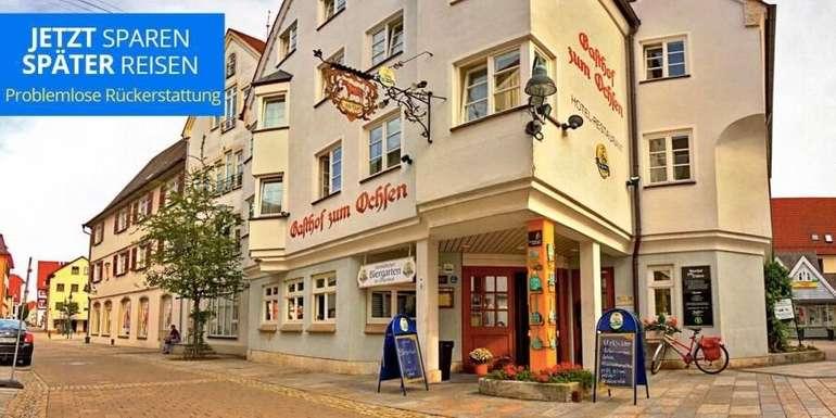 Ehingen: 3* Gasthof zum Ochsen - 2 Nächte im Doppelzimmer inkl. Frühstück ab 138€ bis 31. März 2021