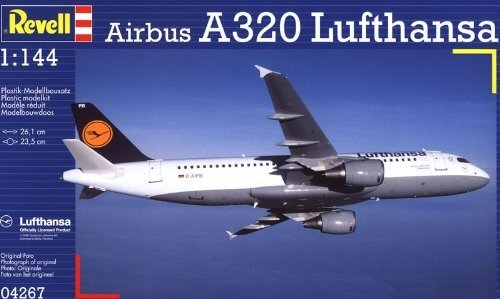 Revell Modellbausatz Flugzeug 1:144 - Lufthansa Airbus A320 für 7,99€ mit Prime