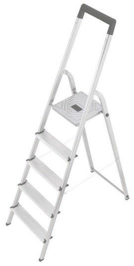 Hailo Aluminium 5 Stufen Stehleiter S 150 für nur 29,44€ inkl. Versand