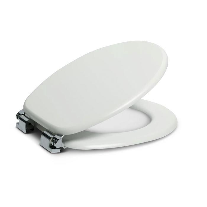 WC-Sitz mit Holzkern und Absenkautomatik für 9,74€ zzgl. Versand (statt 16€)