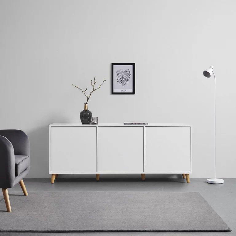 """Bessagi Sideboard in weiß """"Jannik"""" für 145,25€ inkl. Versand (statt 200€)"""