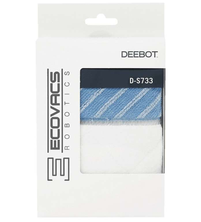 Ecovacs D-S733 Mikrofasertücher (passend für Deeebot M81, M88, R95, R96, R98) nur 9,99€ (statt 22€)