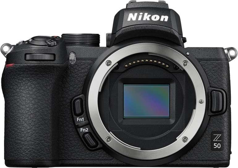 Nikon Z 50 Gehäuse (20,9 Pixel, 8 cm Display) für 645,24€ inkl. Versand (statt 749€)