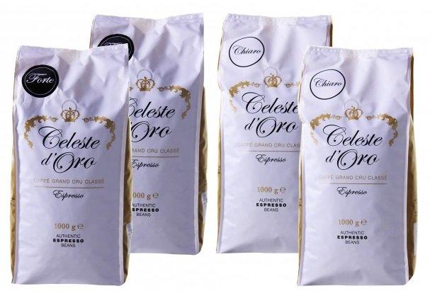 4kg Celeste d'Oro Kaffeebohnen für 43,93€ inkl. Versand