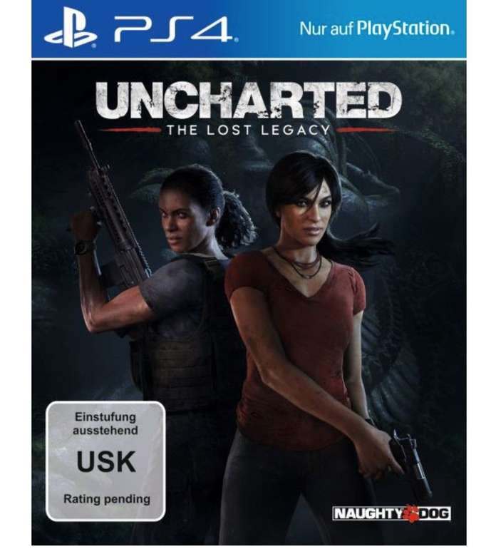 Uncharted: The Lost Legacy (PS4) für 13,50€ inkl. Versand (Vergleich: 19€)