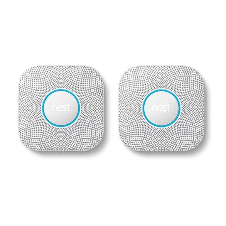 2er Pack Google Nest Protect Rauch- und Kohlenmonoxidmelder für 184€ (statt 238€)