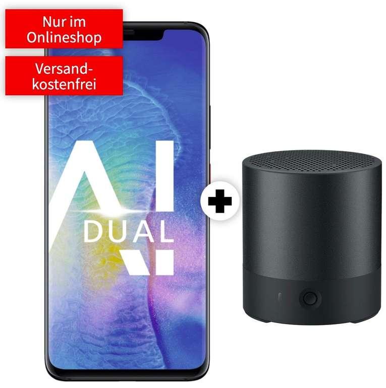 Huawei Mate 20 Pro (4,99€) mit Huawei Mini Speaker + Vodafone green LTE (D2-Netz, All-Net Flat, 4GB LTE) für 17,99€ mtl.