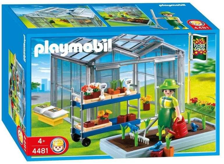 Playmobil Gärtnerei Gewächshaus (4481) für 6,87€ inkl. Versand (statt 13€) - Thalia Club!