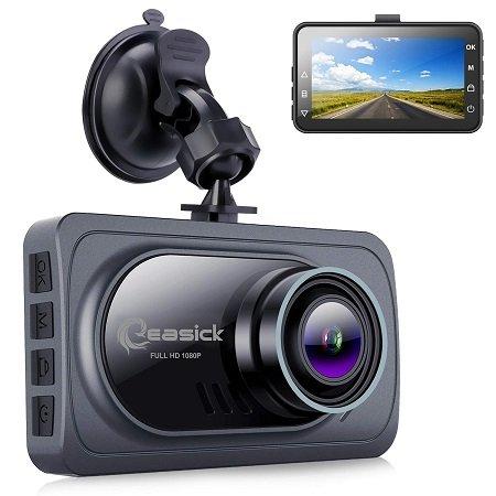 Easick 1080p Dashcam mit 3 Zoll Display & 170° Weitwinkel für 35€ inkl. VSK