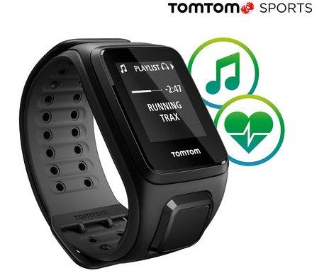 TomTom Runner 2 Cardio + Music - GPS-Sportuhr für 99,90€ (statt 140€)
