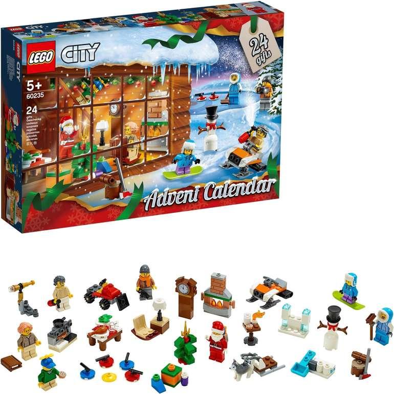 Lego City 60235 - Adventskalender (2019) für 15,99€ bei Abholung (statt 23€)