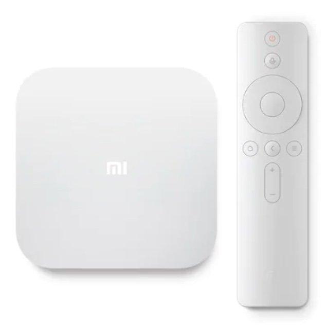 Xiaomi Mi TV Box 4S Pro (Quad-Core, 2GB RAM, 16GB Speicher, WiFi, Bluetooth, 8K, HDR) für 78,56€
