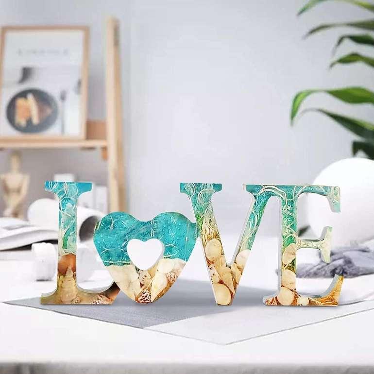 "NoName 3D Gießform ""Love"" inkl. Lichterkette für 3,99€ inkl. Versand (statt 8€)"
