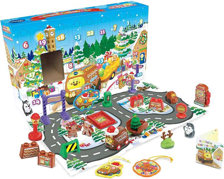 2er-Pack Vtech Tut Tut Babyflitzer Adventskalender für 19,90€ inkl. Versand (statt 34€)