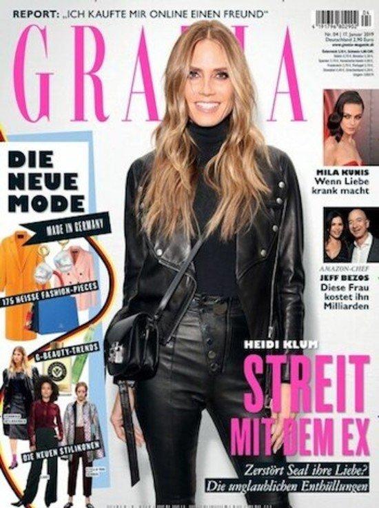 26 Ausgaben Modemagazin Grazia für 6€ (keine Kündigung notwendig)