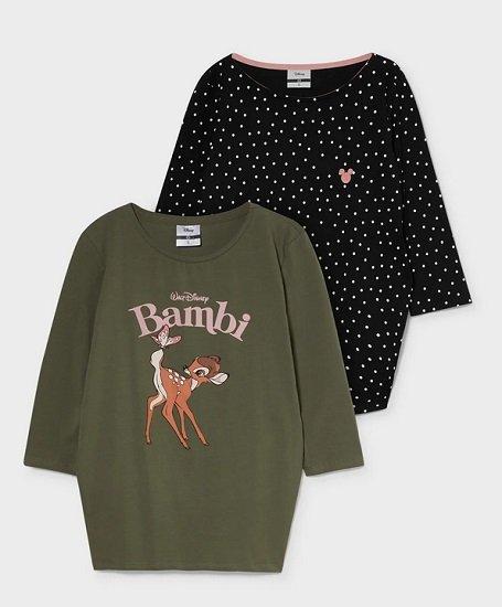 2er Pack C&A Disney Umstands-Langarmshirts 2