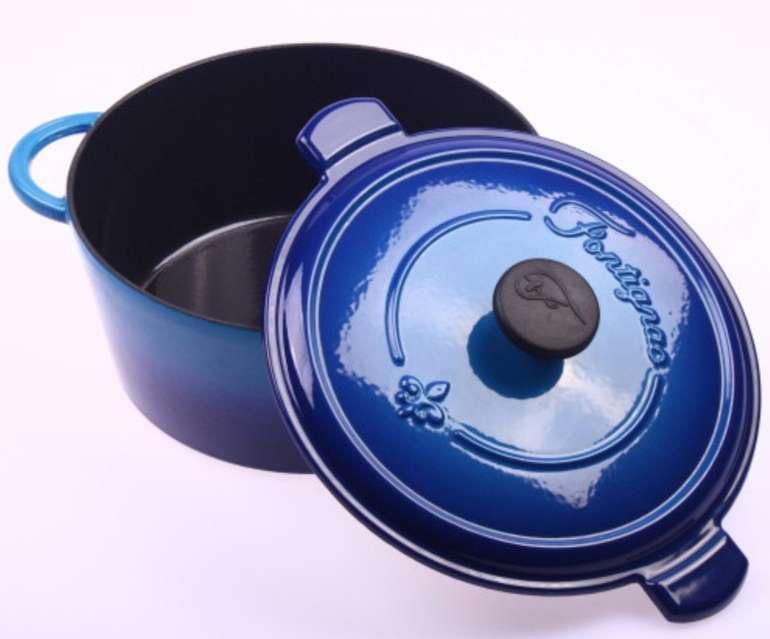 Fontignac by Zwilling Cocotte Gusseisen Bratentopf (24cm) für 41,88€ inkl. Versand (statt 130€)