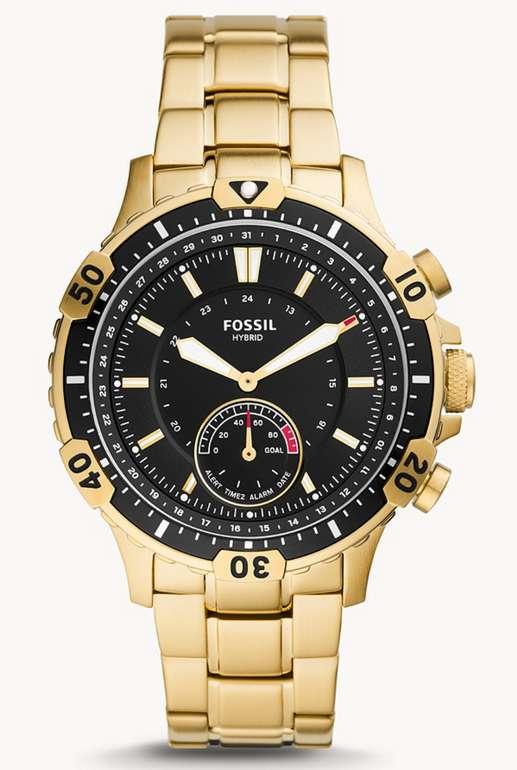 Fossil Hybrid Smartwatch Garrett aus Edelstahl für 69,30€inkl. Versand (statt 140€)