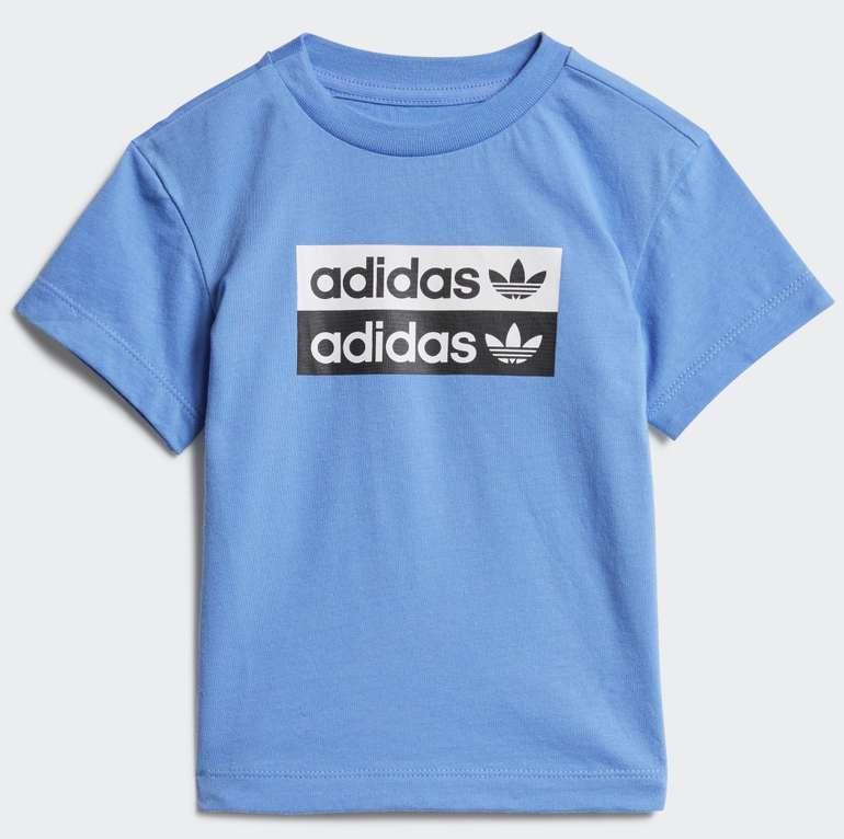 Adidas Kinder Unisex T-Shirt (Größe 62 bis 104) für 10,06€ inkl. Versand (statt 18€) - Creators Club