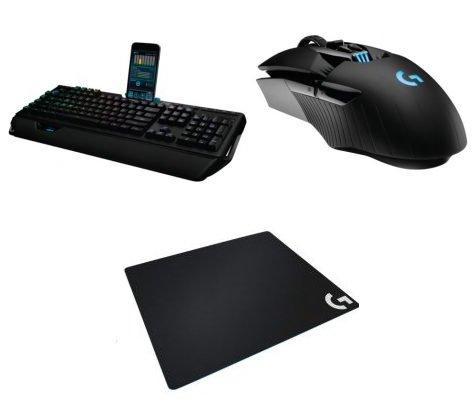 Logitech 991-000214: Gaming Pro Bundle (G910, G900, G640) für 149€ inkl. Versand