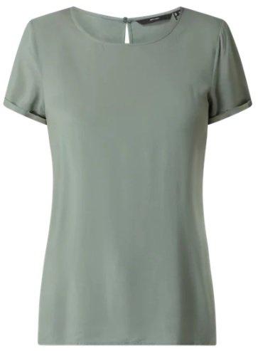 """Vero Moda T-Shirt aus Viskose Modell """"Nads"""" für 11,24€ inkl. Versand (statt 15€) - auch in Schwarz"""