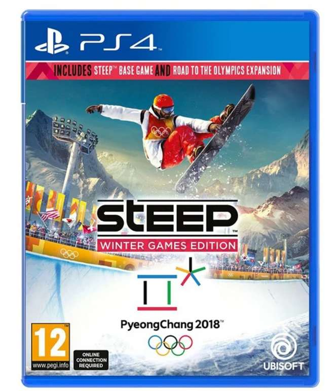 Steep Winter Games (Playstation 4) für 11,99€ inkl. Versand (statt 21€)