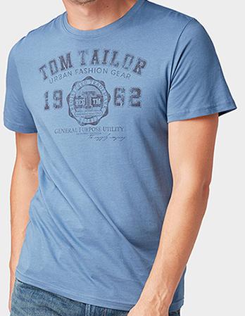 Tom Tailor: 20% Rabatt auf alles - auch Sale - z.B. T-Shirts ab 7,19€