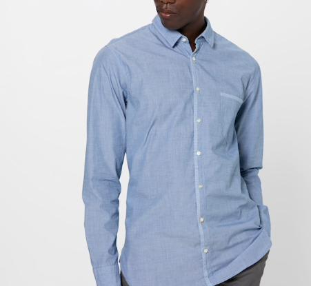 """Boss Herren Hemd """"Magneton"""" in hellblau für 58,41€ inkl. Versand (statt 65€)"""