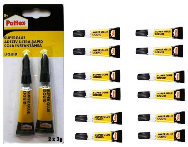 12x Pattex Sekundenkleber SuperGlue Extrastark (3 Gramm) für 9,99€inkl. Versand (statt 15€)
