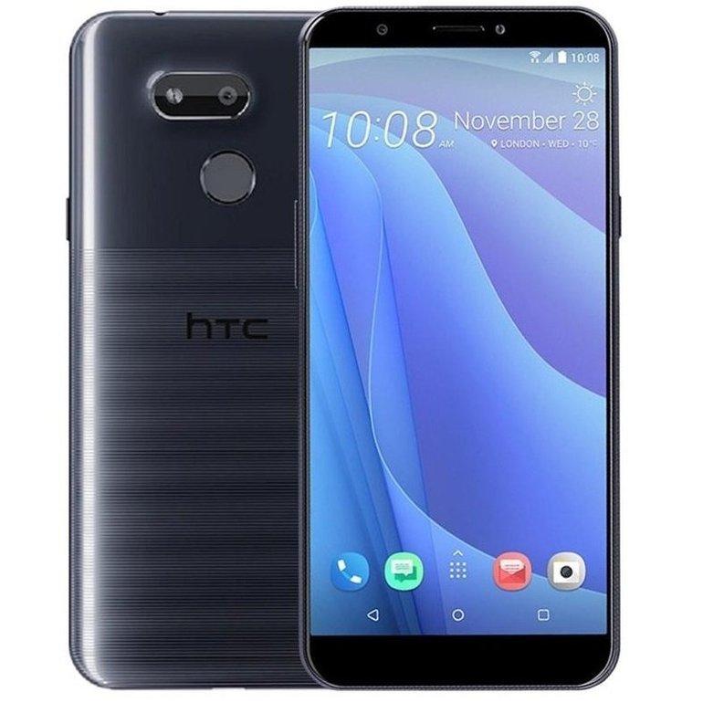 "HTC 5,7"" Smartphone Desire 12s (LTE, 32 GB, Dual SIM) in 'Dark Blue' für 139€ inkl. VSK (statt 180€)"