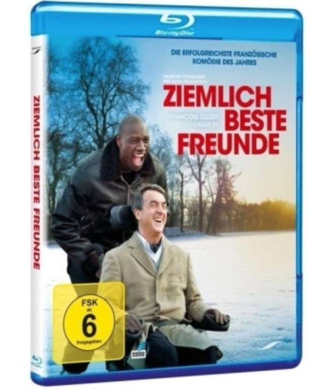 Ziemlich beste Freunde (Blu-ray) für 3,48€ inkl. Versand (Vergleich: 9€)
