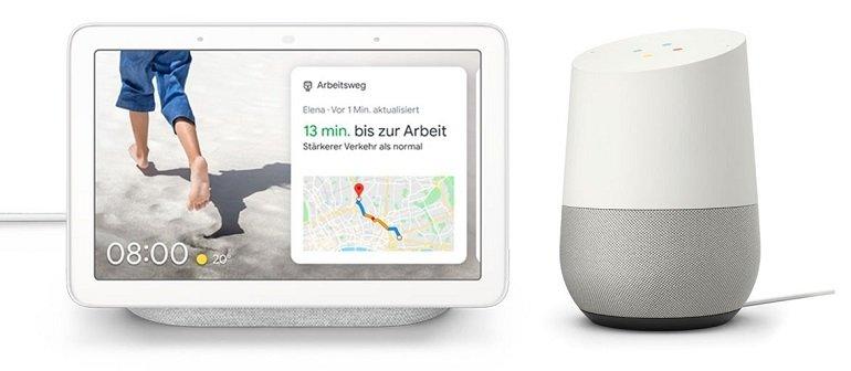 Google Nest Hub + Google Home für 134,95€ (statt 169€)