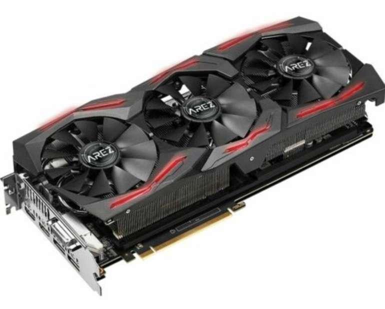 Asus Radeon RX Vega 56 ROG Strix OC 8GB (90YV0B50-M0NA00) Grafikkarte ab 259,99€
