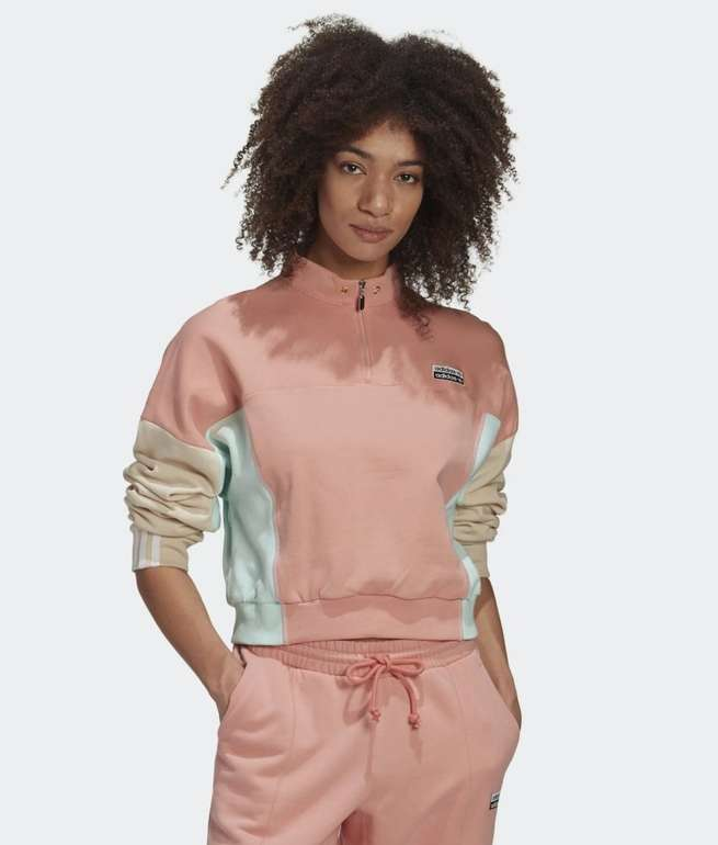 Adidas R.Y.V. Damen Cropped Sweatshirt für 34,27€ inkl. Versand (statt 48€)