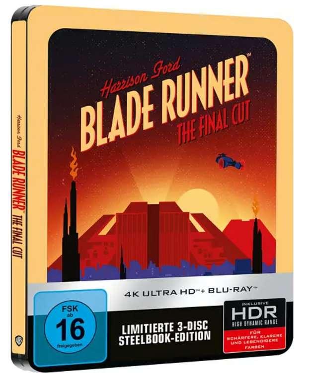 Blade Runner Final Cut (Limitiertes SteelBook®) 4K Ultra HD Blu-ray für 23,09€inkl. Versand (statt 33€)