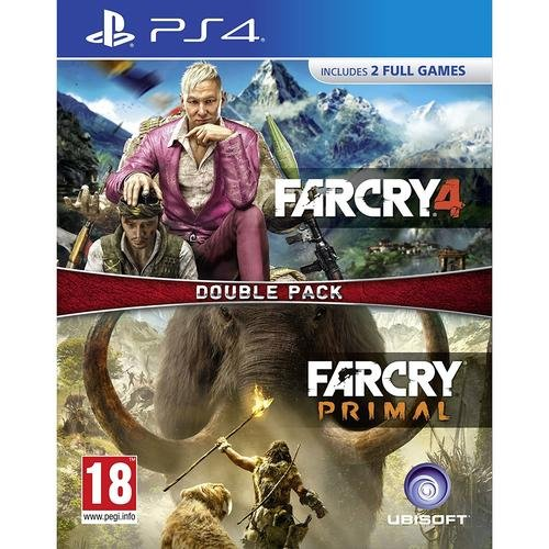 Far Cry Primal + Far Cry 4 Double Pack (PS4) für 20,40€ inkl. Versand