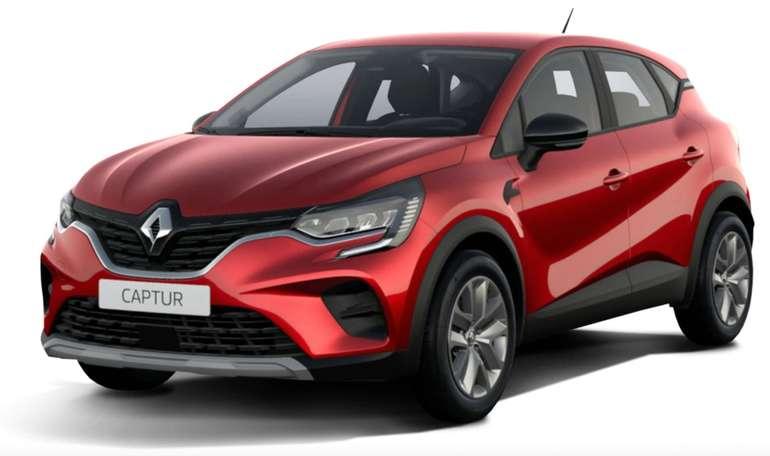 Gewerbe Test-Leasing: Renault Captur Business Edition TCe 140 Automatik mit 140 PS für 89€ mtl. (Bereitstellung: 599€, LF: 0,39)