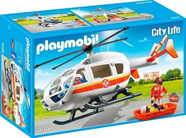 Playmobil - City Life Rettungshelikopter (6686) für 20€ inkl. VSK (statt 26€)