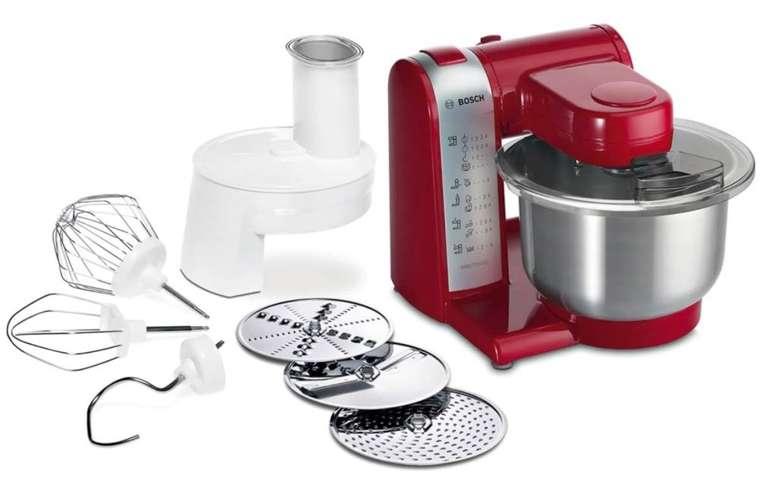 Bosch MUM48R1 Küchenmaschine mit 3,9 Liter Edelstahl-Schüssel und 4 Arbeitsstufen für 104,89€ (statt 136€)