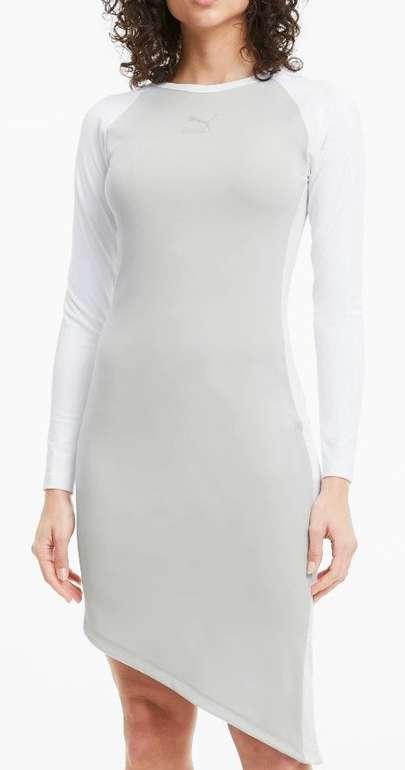 Puma T7 2020 Fashion Damen Kleid in grau/schwarz für je 27,96€ (statt 35€)