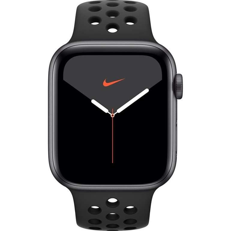 Apple Watch Series 5 Nike+ (GPS, 44mm, Sportarmband) für 428,35€ inkl. VSK
