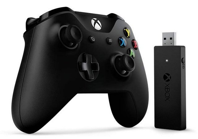 Xbox One Wireless Controller inkl. Adapter (Windows 10) für 39,90€ inkl. Versand