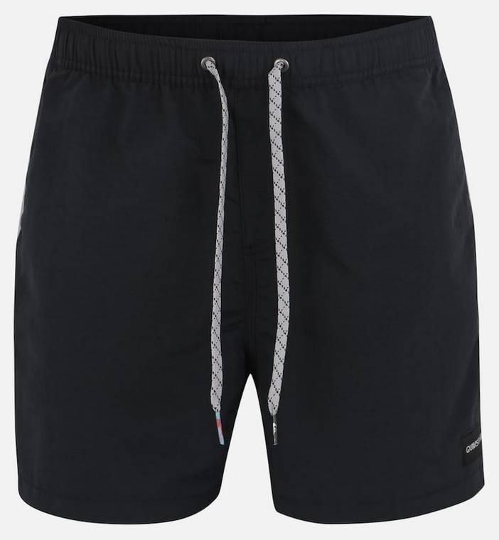 """Quiksilver Boardshorts """"Vibes 16"""" in schwarz/ pink für 21,55€ (statt 46€)"""