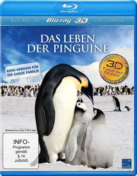 Das Leben der Pinguine auf Blu-ray (3D) für 11,99€ inkl. Versand (statt 17€)