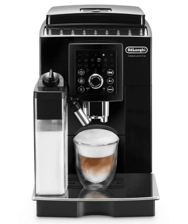 DeLonghi Ecam 23.266.B Kaffeevollautomat (1.8 Liter Wassertank, 15 bar) für 334,49€ inkl. Versand (statt 438€)